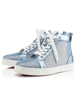 Christian Louboutin Louis Womens Strass High Sneaker